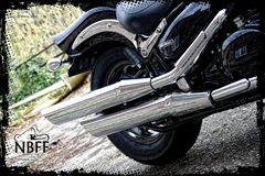 Intruder M800 Exhaust