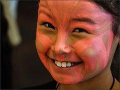 Inuit-Mädchen
