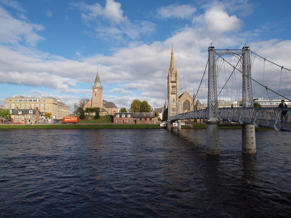Inverness - Stadtansicht