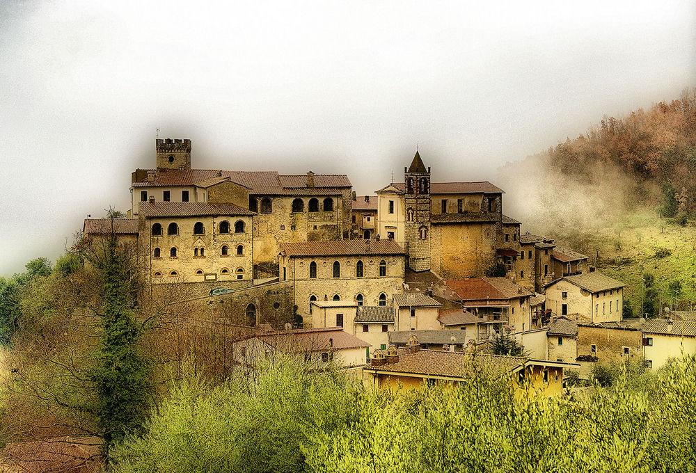 Inverno nel vecchio borgo
