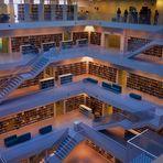 inzwischen oft zitiert im Bild Stuttgart s neue  Bibliothek