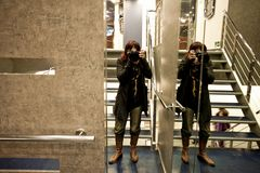 Io e gli specchi.......