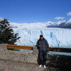 io e il ghiacciaio