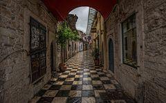 Ioannina im Regen