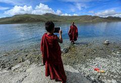 Ipad in Tibet