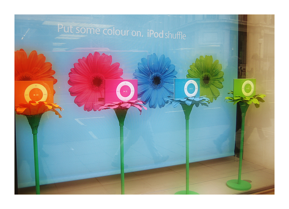 iPod flower