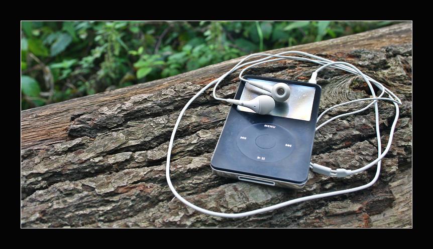 iPod überall dabei..