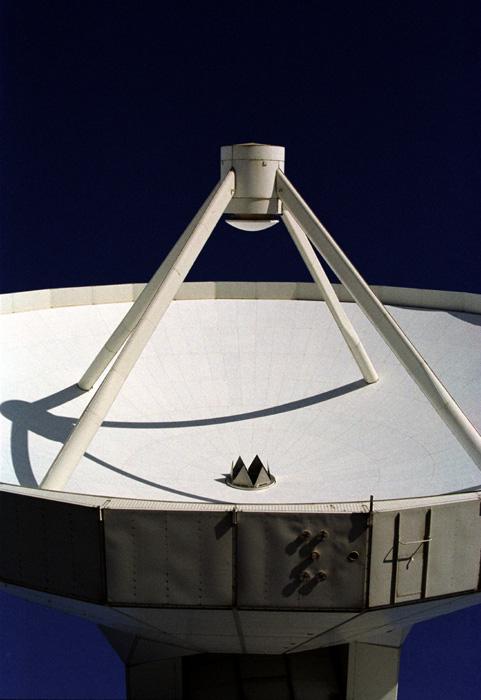 IRAM 30 Meter Radioteleskop - Auschnitt Schüssel