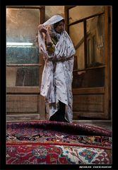 Iranian Carpet - Iranian Woman