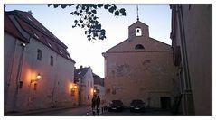 Irgendwo abends in der Altstadt von Vilnius