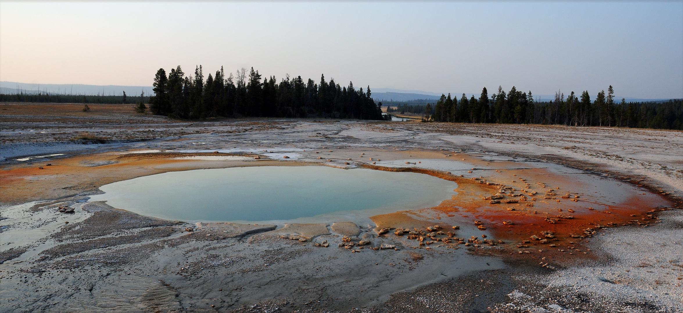 Irgendwo im Yellowstone NP