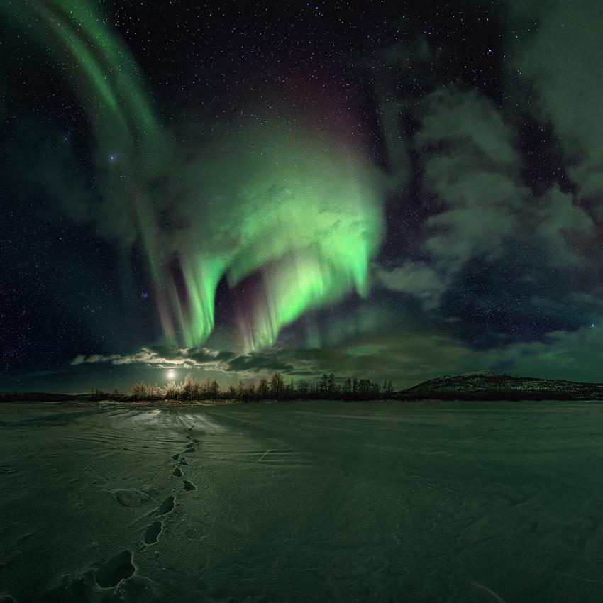 Irgendwo in Lappland . Reload