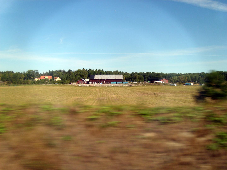 Irgendwo zwischen Stockholm und Nyköping...