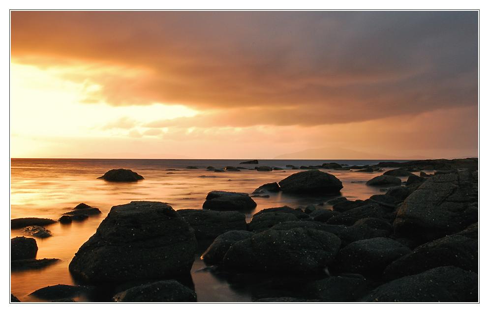 Irischer Sonnenuntergang...