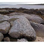 irish beach rocks