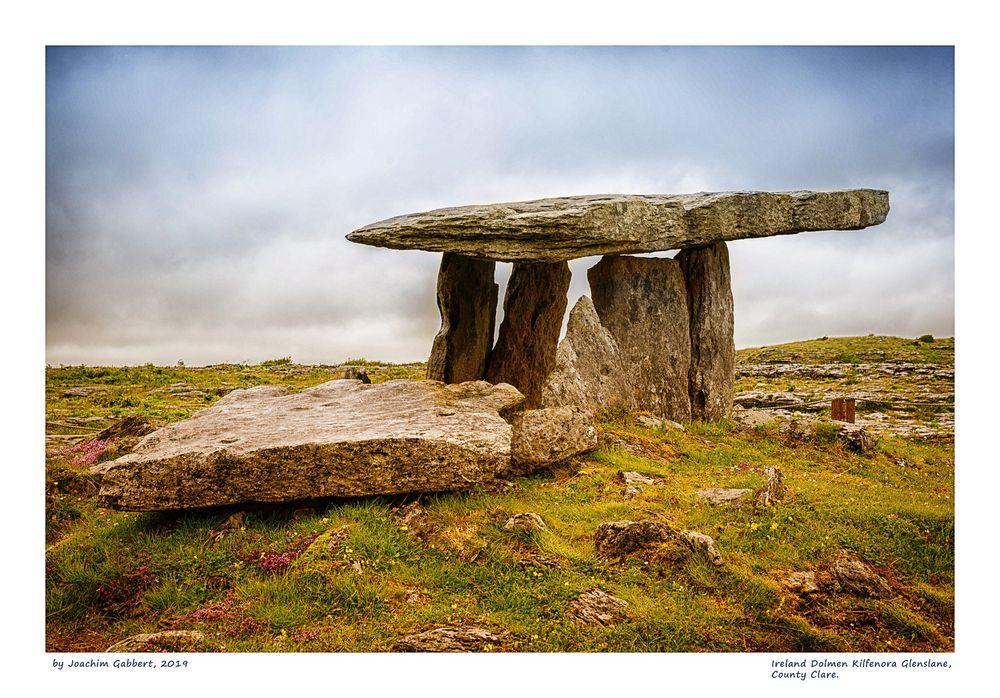 Irland Dolmen Kilfenora Glenslane