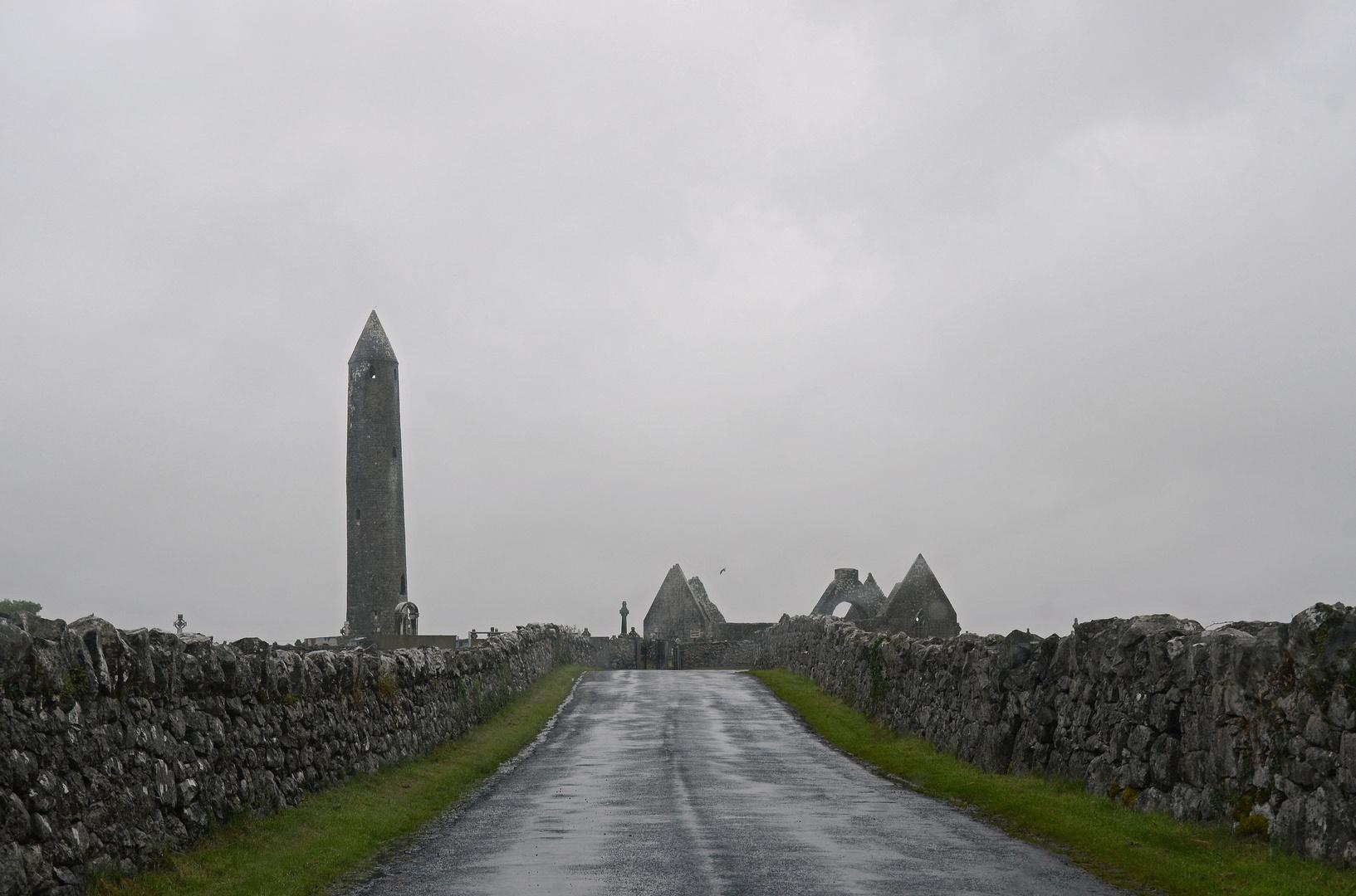 Irland... wie in einem Gruselfilm.