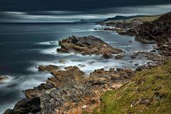 Irlands Küste ...