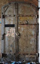 Iron door-Eisentür