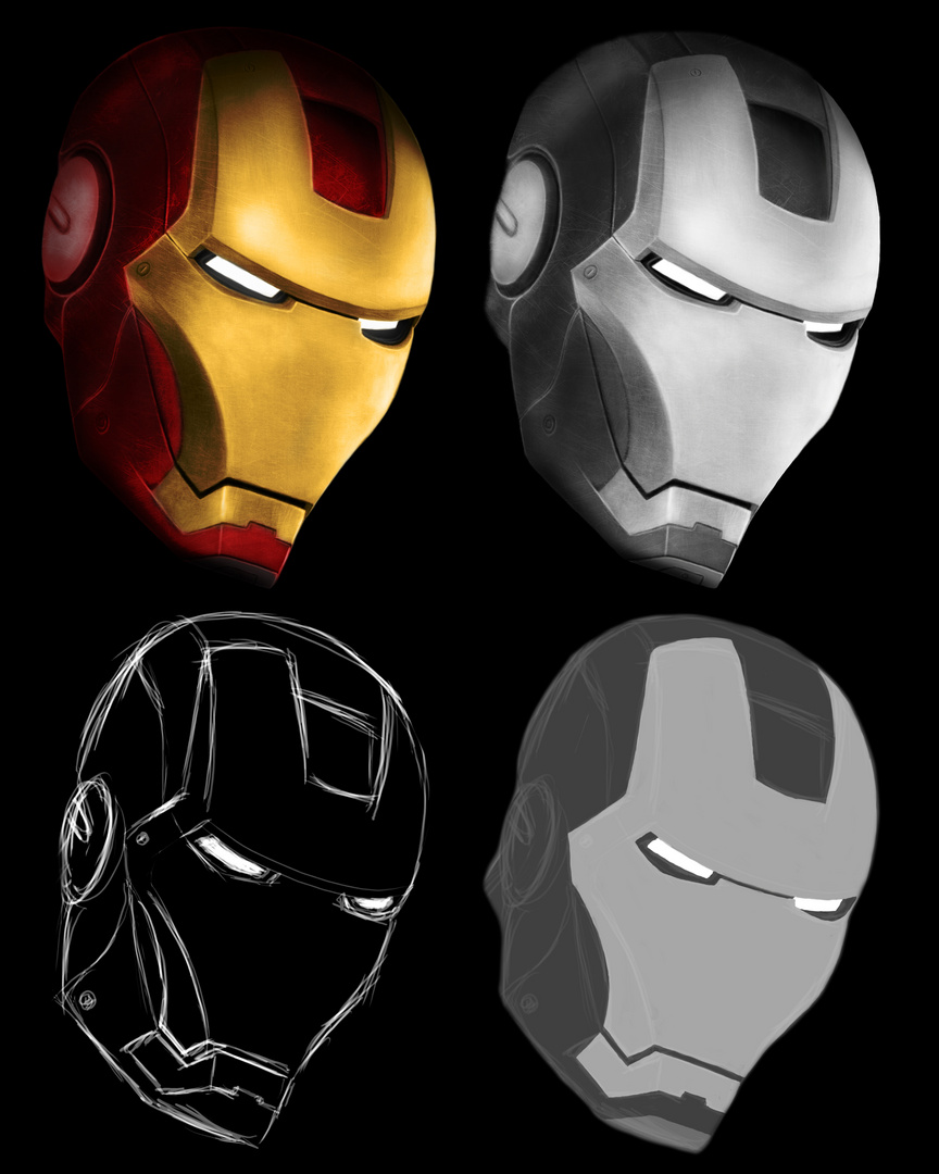 iron man foto bild 2d grafik zeichnungen digiart. Black Bedroom Furniture Sets. Home Design Ideas