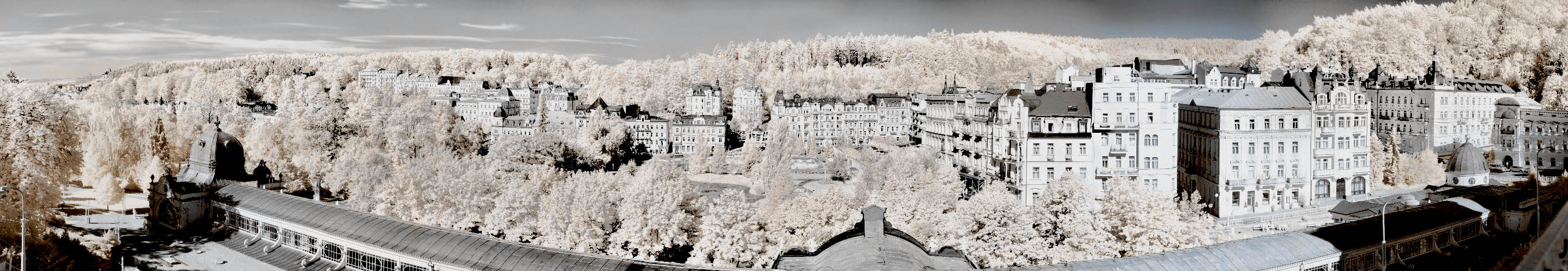 IRres HDR-Panorama von Marienbad