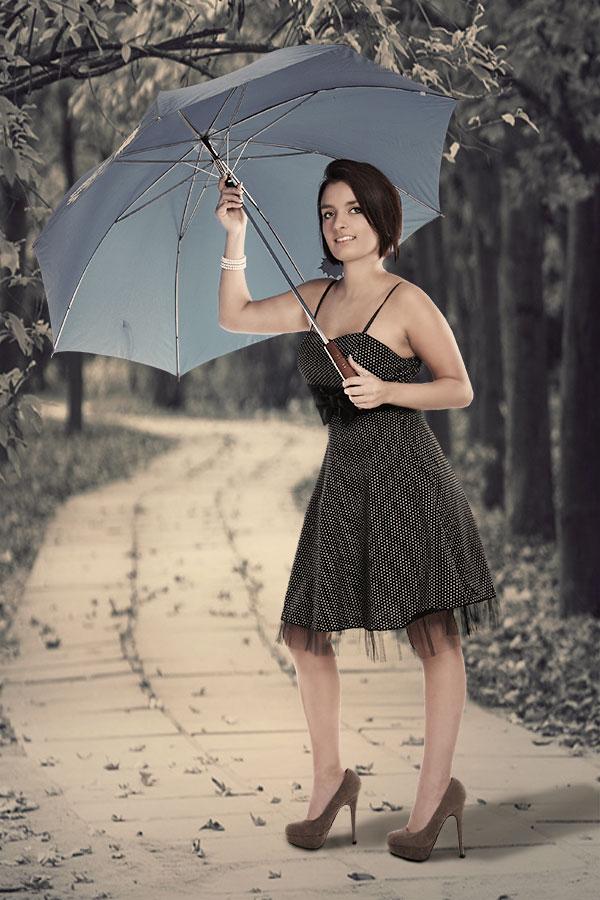 Isabel im Herbst