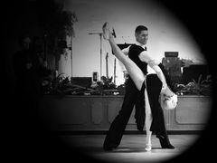 Isabell Edvardsson und Markus Weiß beim Argentinischen Tango