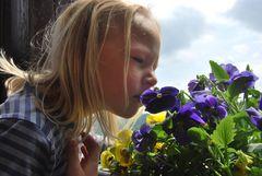 Isabelle und die Blumen