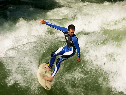Isar Surf 2 - München-Thalkirchen