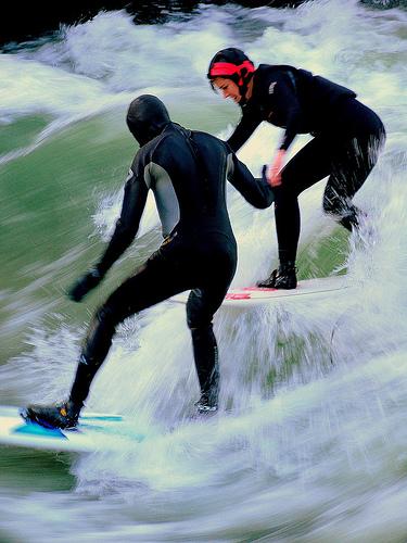 Isar Surf - München-Thalkirchen