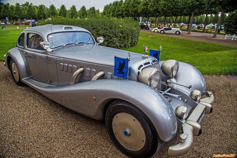 """Isdera """"Autobahnkurier"""" D 2006 bei Classic Cars Schwetzingen"""
