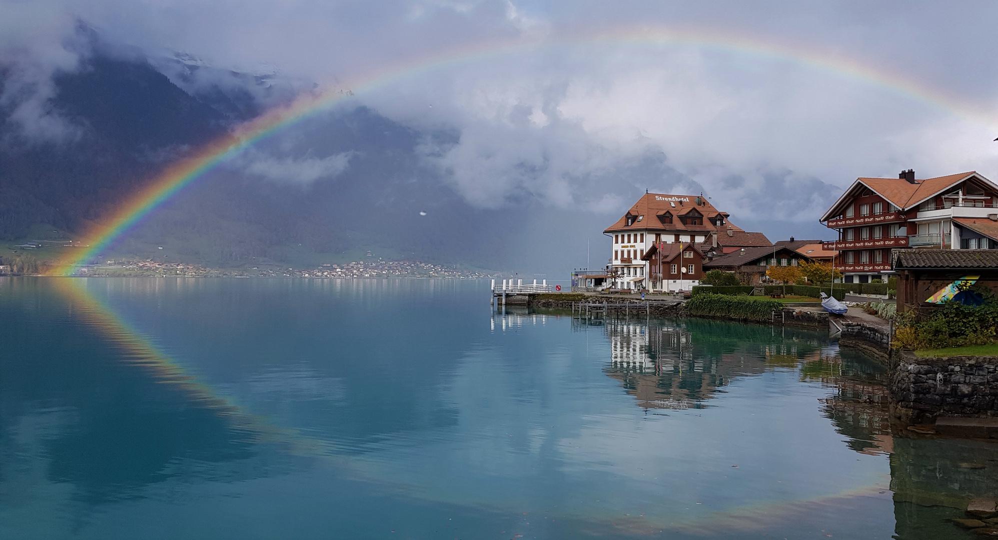 Iseltwald Regenbogen