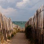 Isla de Re. Acceso a la playa.
