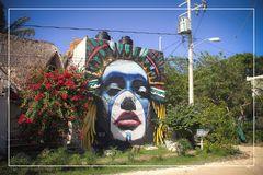 Isla Holbox - farbenfroh