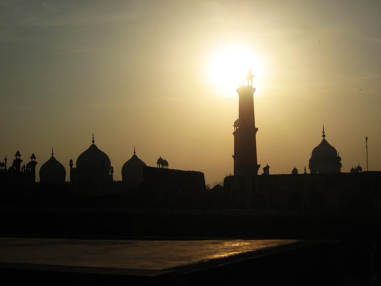 Islamic masjid Lahore Pakistan