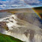 Island - Der Wasserfall Gullfoss