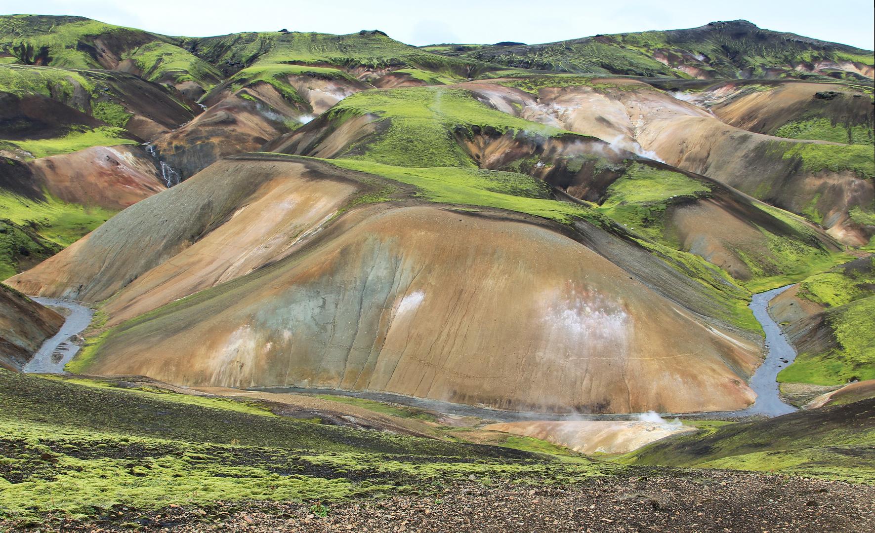 Island Farben und Formen 2