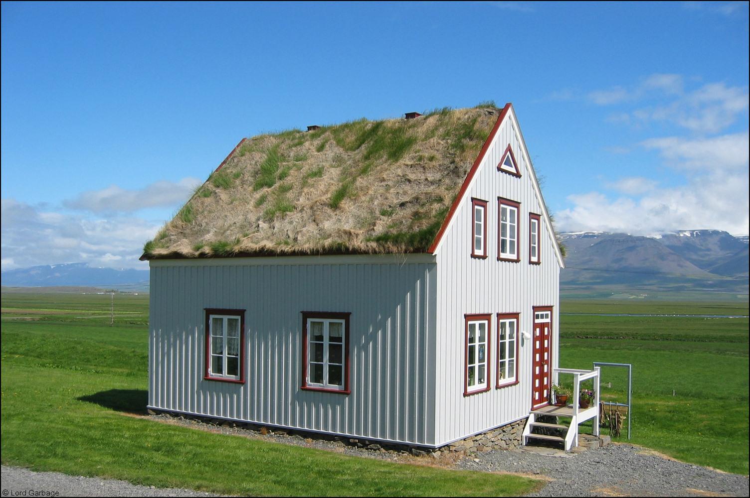 Island Haus Foto & Bild