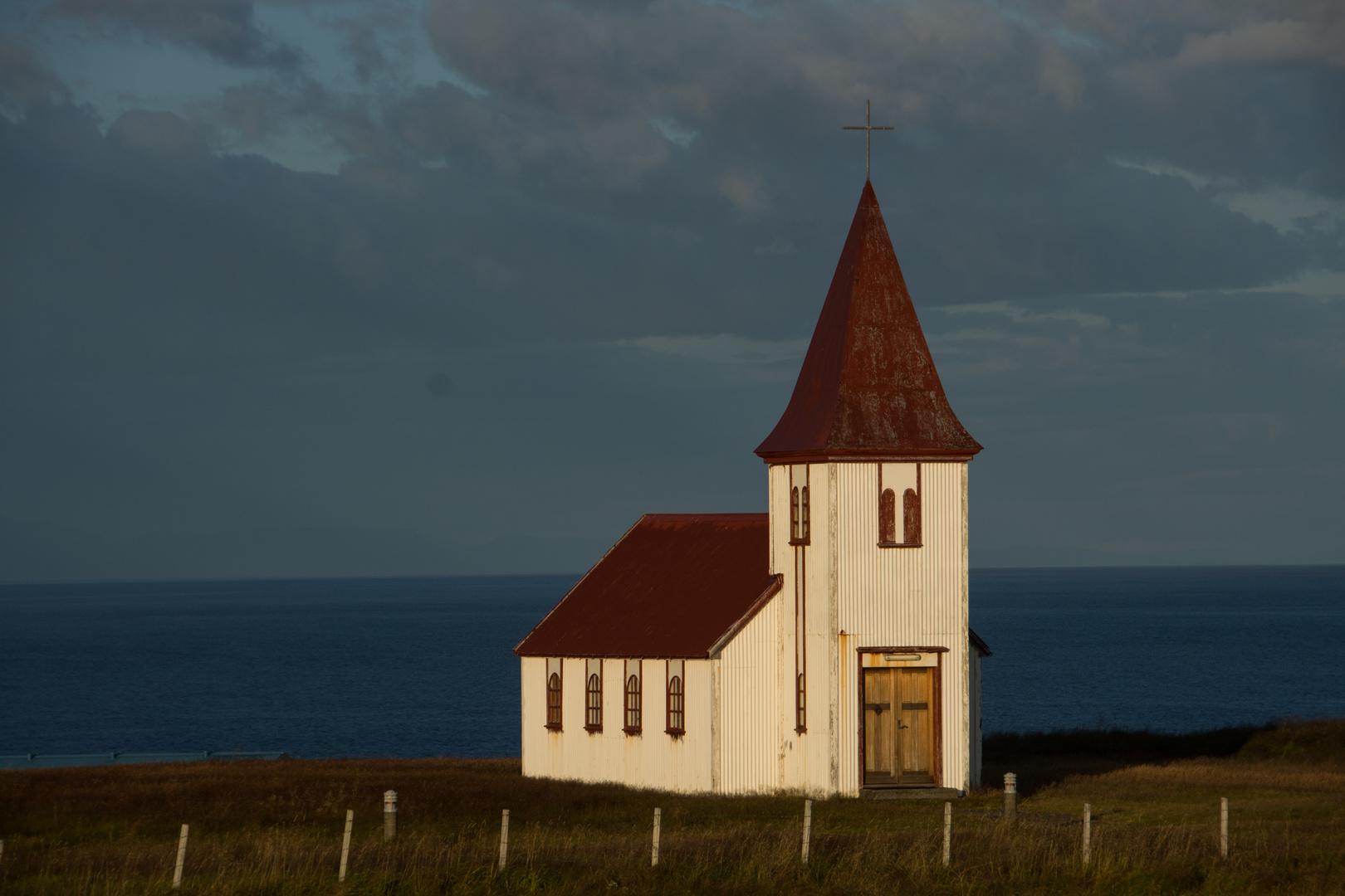 Island - Hellnr Church