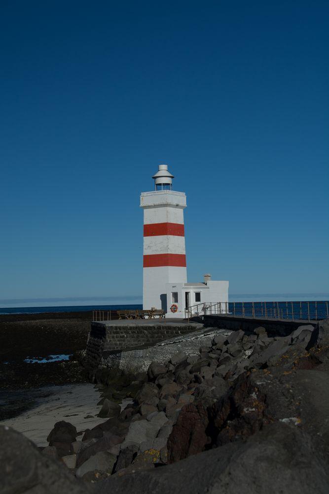 Island - Leuchtturm Garðskagi