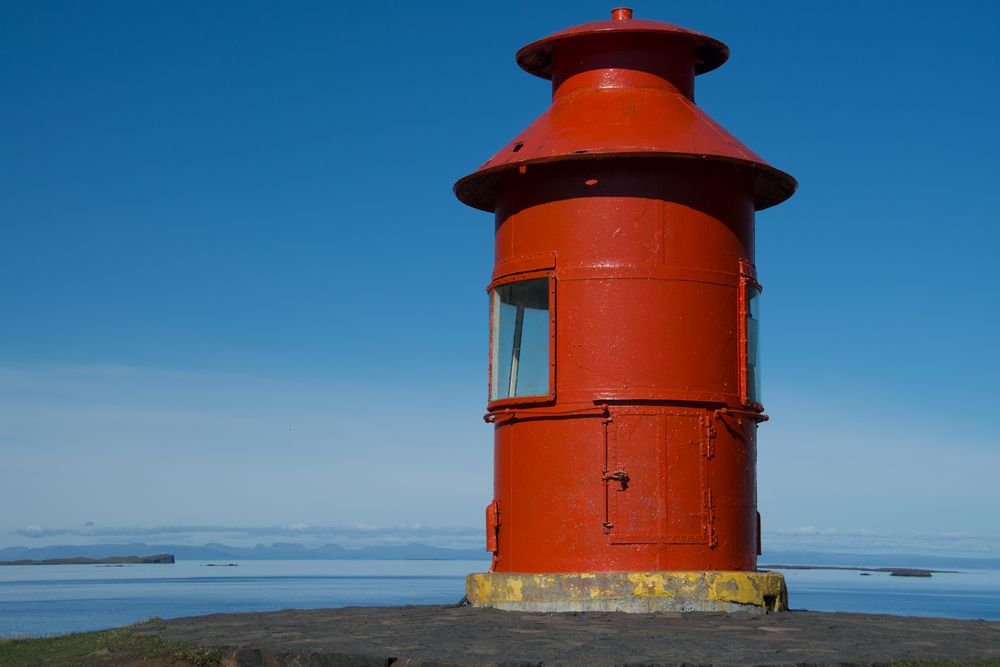 Island - Leuchtturm Stykkisholmur
