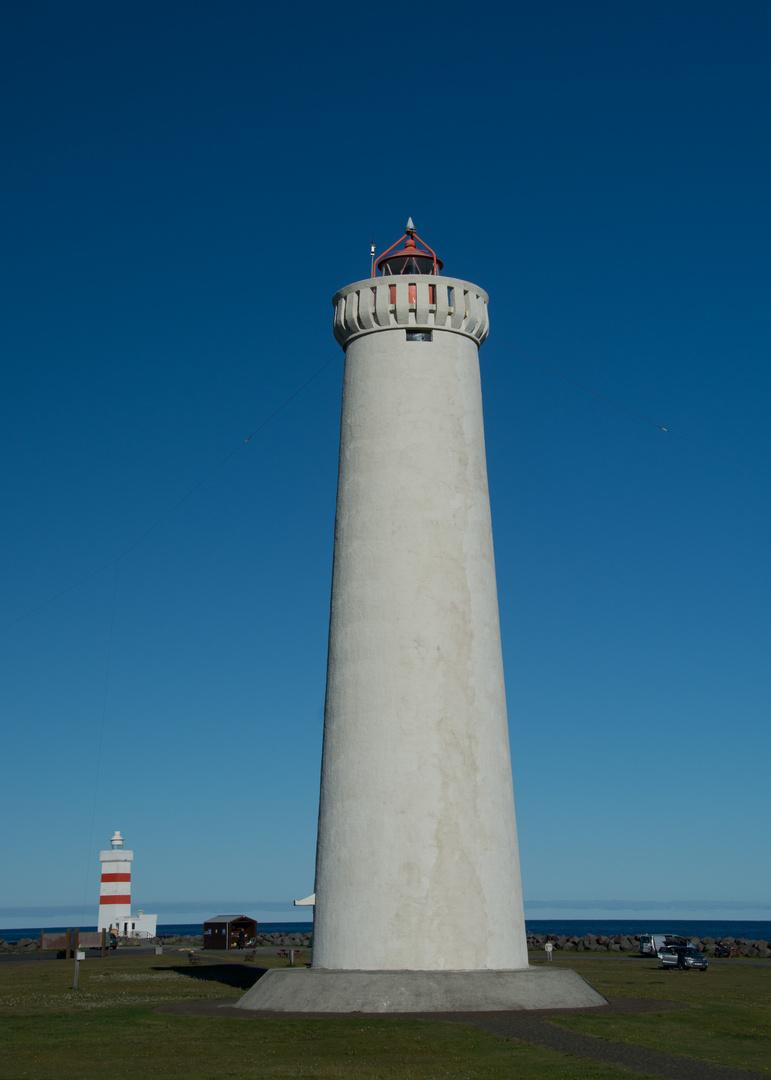 Island - neuer Leuchtturm von Gardur