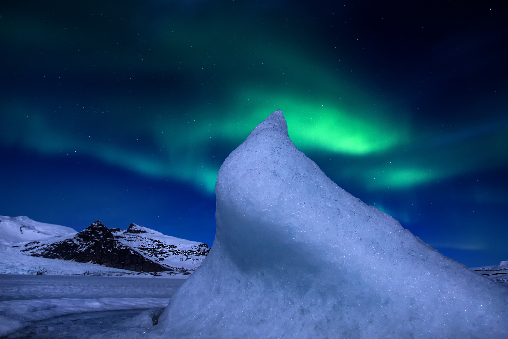 Island Nordlicht