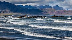 ISLAND: STEILKÜSTE IM OSTEN
