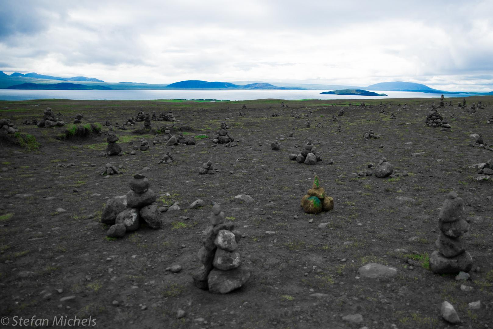 Island Steinmännchen