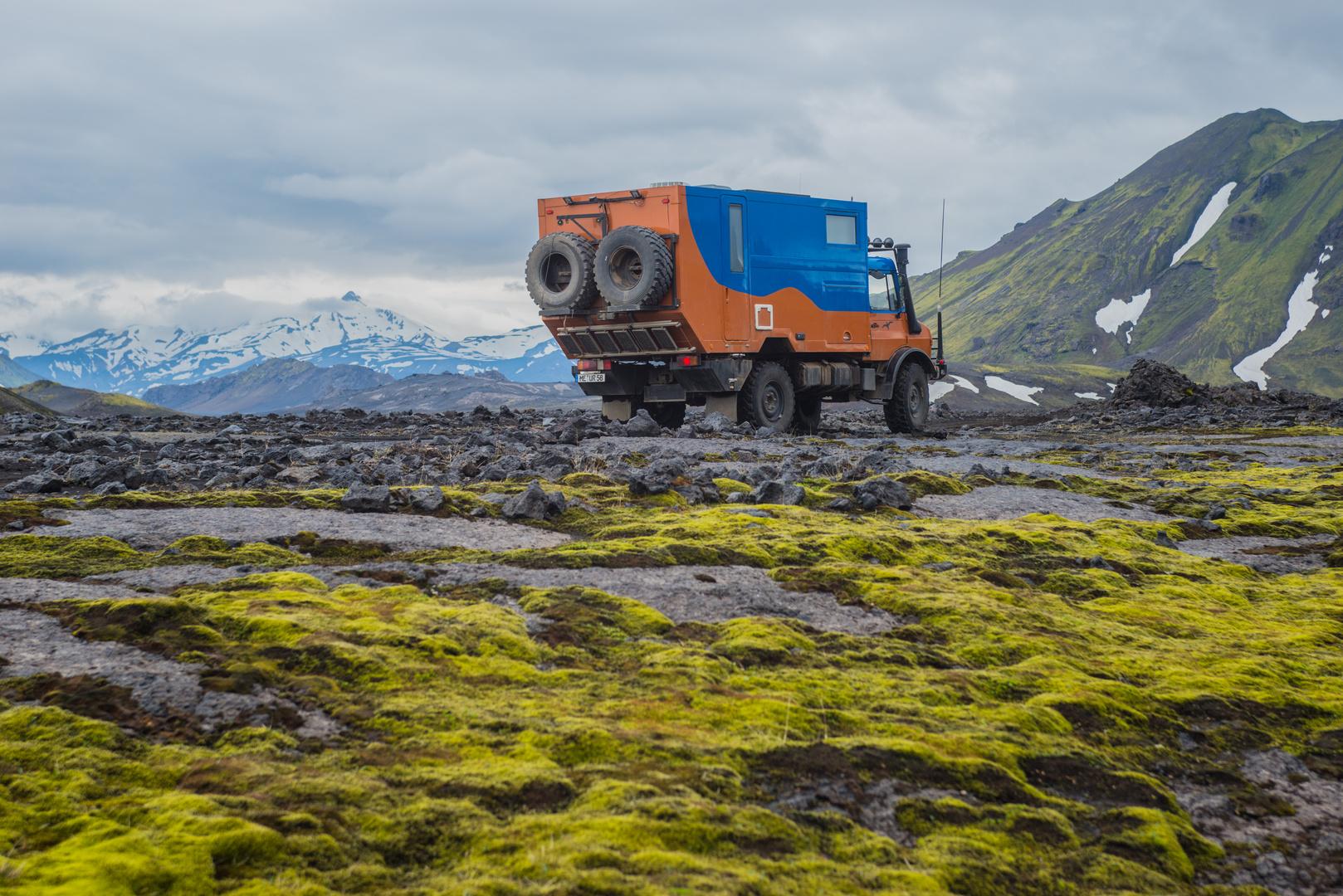 Island, Unterwegs im Hochland