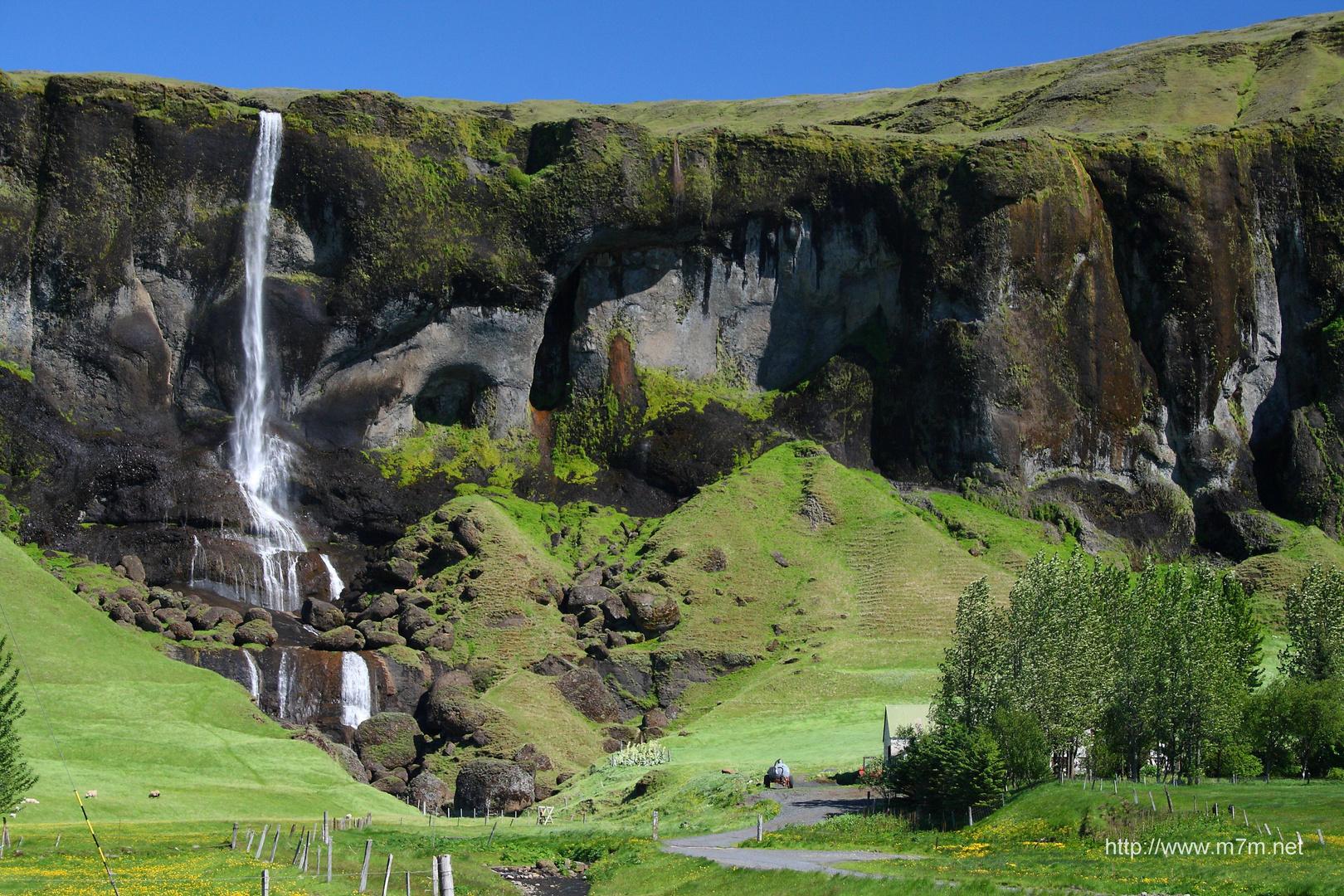 Island Vik Umgebung