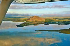 Island von oben