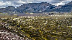 ISLAND - Vulkanisches Hochland
