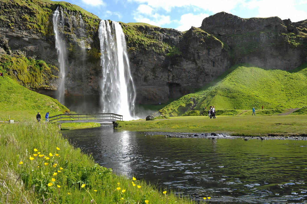 Island Wasserfall 8